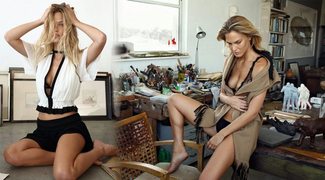 Bar Refaeli – AT Magazine Photoshoot (September 2015)