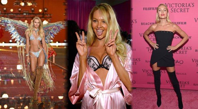 Candice Swanepoel – 2015 Victoria's Secret Fashion Show
