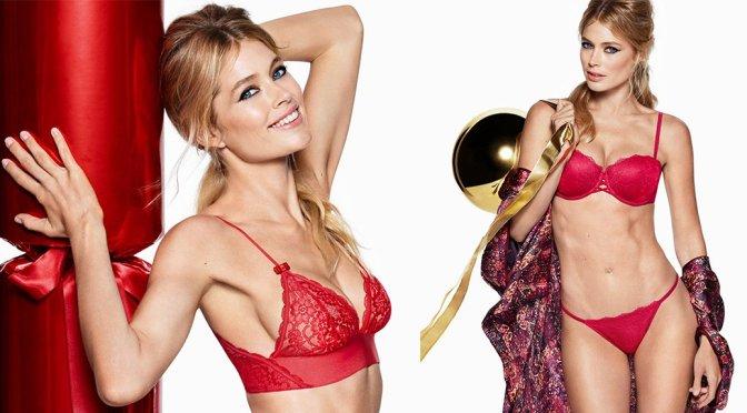Doutzen Kroes – H&M Holiday Photoshoot