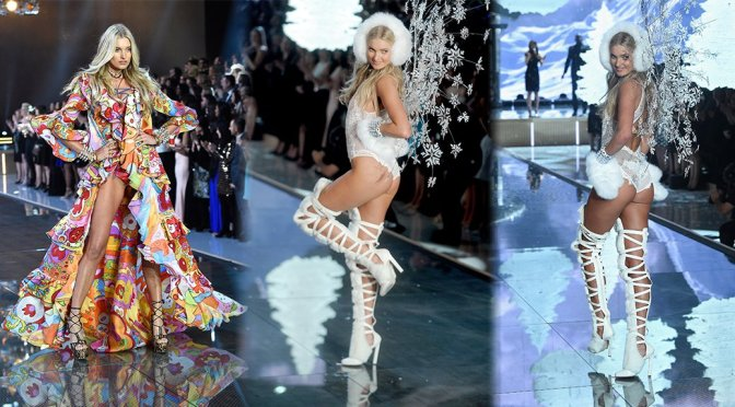 Elsa Hosk - 2015 Victoria's Secret Fashion Show