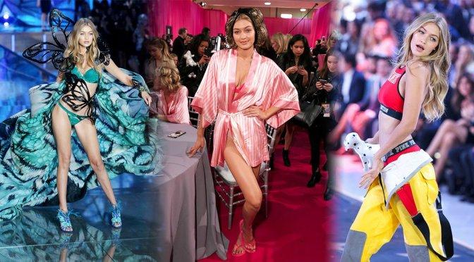 Gigi Hadid – 2015 Victoria's Secret Fashion Show