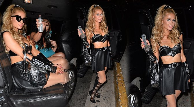 Paris Hilton - Bootsy Bellows Halloween Party