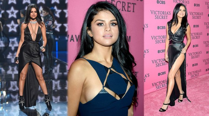 Selena Gomez – 2015 Victoria's Secret Fashion Show