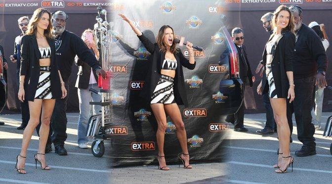 "Alessandra Ambrosio on ""Extra"" in Hollywood"