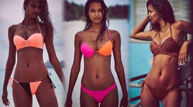 Lais Ribeiro – Victoria's Secret Bikini Photoshoot
