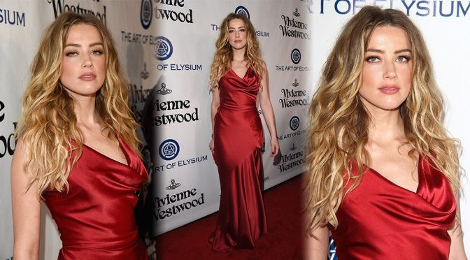 Amber Heard - The Art of Elysium 2016 HEAVEN Gala