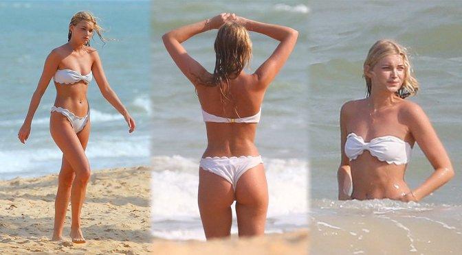 Elsa Hosk – Bikini Candids in Brazil