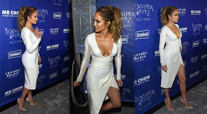 "Jennifer Lopez – ""All I Have"" Residency After Party in Las Vegas"