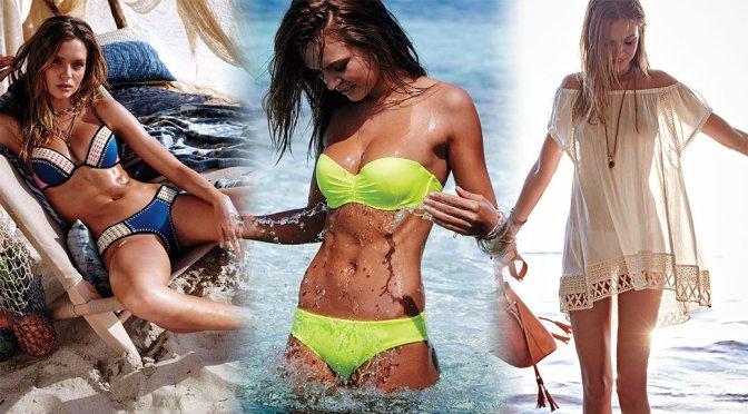 Josephine Skriver – Victoria's Secret Bikini Photoshoot