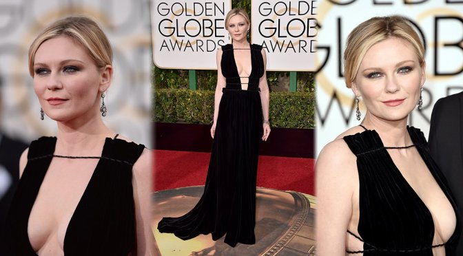 Kirsten Dunst – 73rd Annual Golden Globe Awards