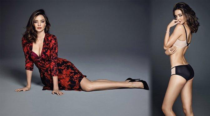 Miranda Kerr – Wonderbra Spring/Summer 2016 Photoshoot