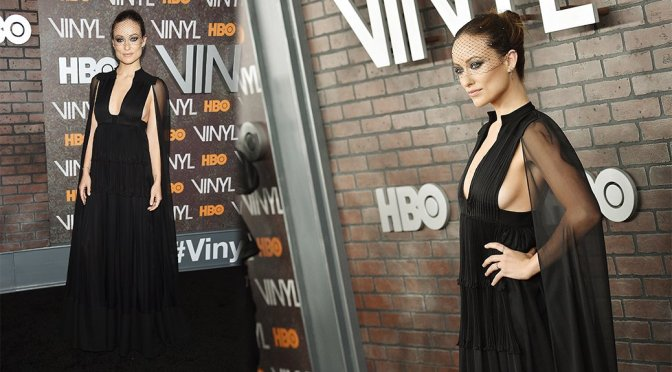 "Olivia Wilde – ""Vinyl"" Premiere in New York"