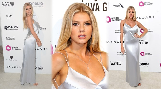 Charlotte McKinney – 24th Annual Elton John AIDS Foundation's Oscar Viewing Party