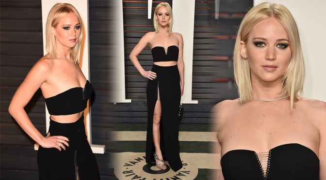 Jennifer Lawrence – 2016 Vanity Fair Oscar Party in Beverly Hills