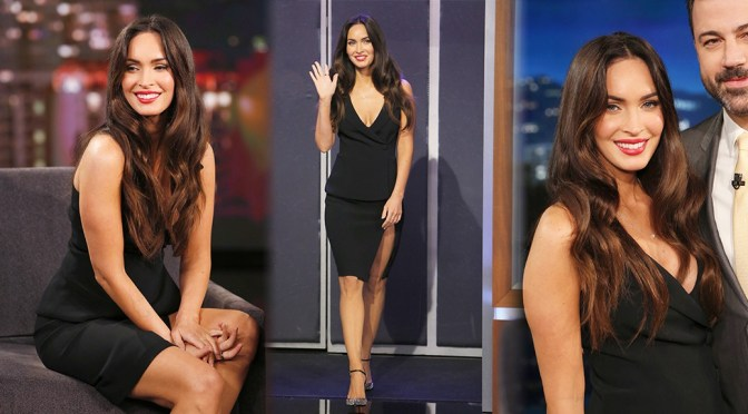 Megan Fox on Jimmy Kimmel Live! in Hollywood