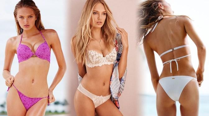 Romee Strijd – Victoria's Secret Bikini & Lingerie Photoshoot