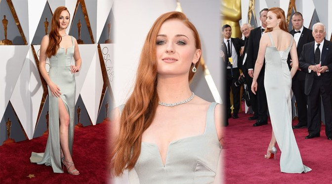 Sophie Turner – 88th Annual Academy Awards in Hollywood