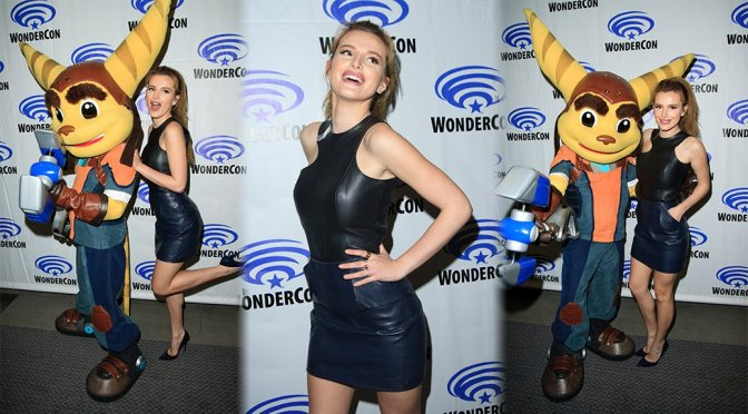 "Bella Thorne – ""Ratchet and Clank"" Event at WonderCon 2016 in Los Angeles"