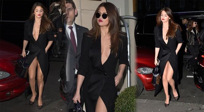 Selena Gomez – Leggy Candids in Paris