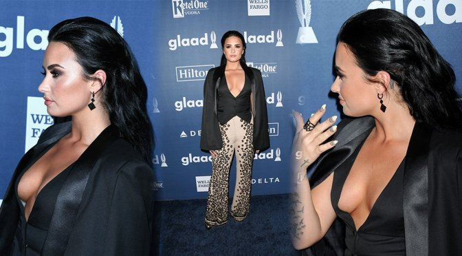 Demi Lovato – 27th Annual GLAAD Media Awards in Beverly Hills