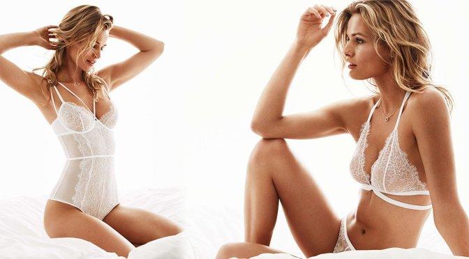 Edita Vilkeviciute – H&M Bridal Lingerie Photoshoot