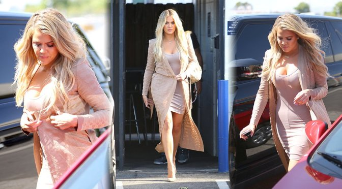 Khloe Kardashian – Candids in Los Angeles