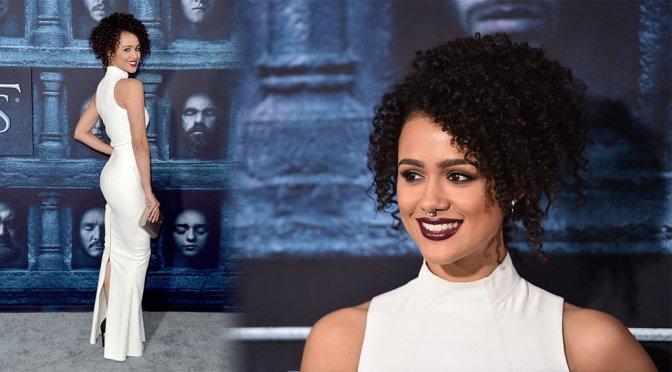 """Nathalie Emmanuel – """"Game of Thrones"""" Season 6 Premiere in Los Angeles"""