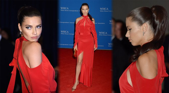Adriana Lima – 102nd White House Correspondents' Association Dinner