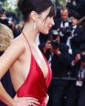 """Bella Hadid - """"La Fille Inconnue"""" Premiere in Cannes"""