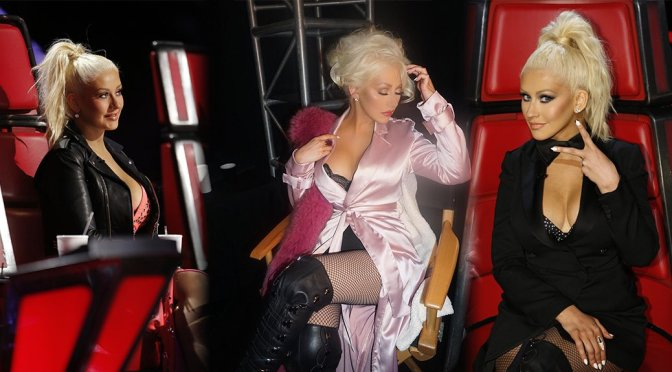 "Christina Aguilera – ""The Voice"" Season Ten Promos"