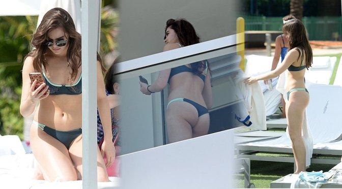 Hailee Steinfeld – Bikini Candids in Miami