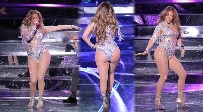 "Jennifer Lopez - ""All I Have"" Concert in Las Vegas"
