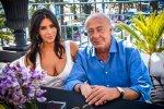 Kim Kardashian - Cleavage Candids in Cannes