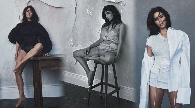Kim Kardashian - Vogue Australia Magazine Photoshoot (June 2016)