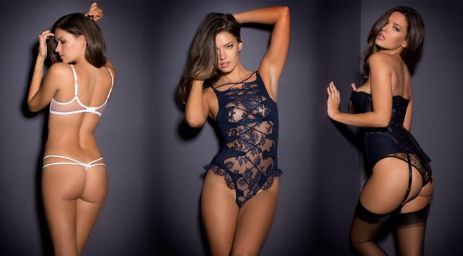 Michea Crawford - Agent Provocateur Lingerie Photoshoot