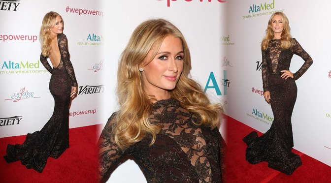 Paris Hilton – Power Up, We Are The Future Gala in Beverly Hills