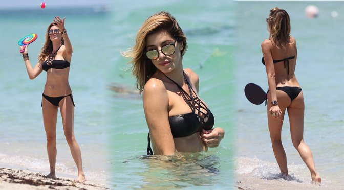 Aida Yespica – Bikini Candids in Miami