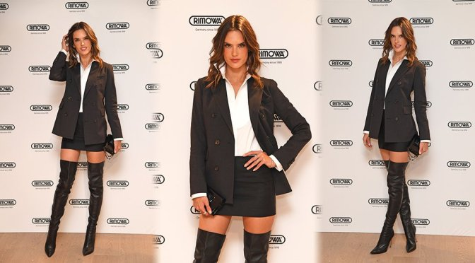 "Alessandra Ambrosio - ""Rimova"" Opening in London"