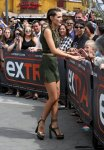 "Bella Thorne on ""Extra"" in Los Angeles"