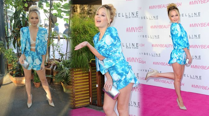 Kelli Berglund - Maybelline New York's Beauty Bash in Los Angeles