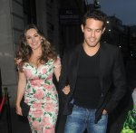 Kelly Brook - Steam and Rye Tropical Party in London
