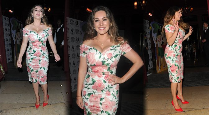 Kelly Brook – Steam and Rye Tropical Party in London