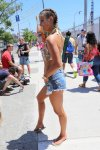 Nina Agdal - 34th Annual Mermaid Parade in Coney Island