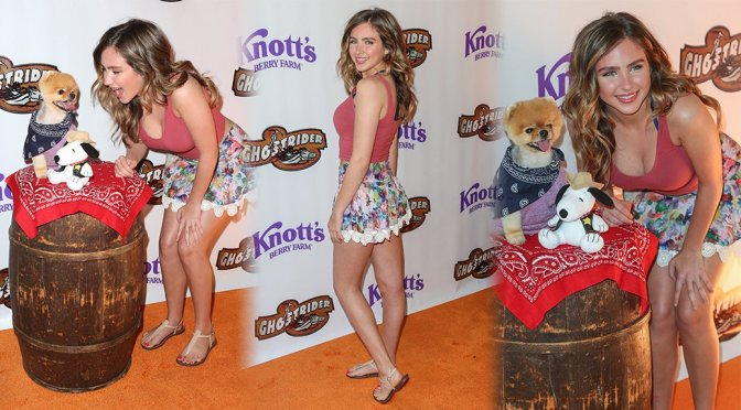 Ryan Newman – Ghost Rider Rides Again Event in Buena Park