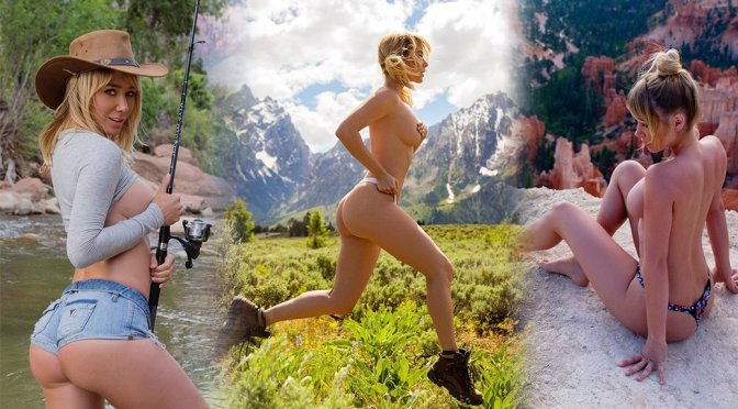 Sara Underwood – Photoshoot in Zion National Park