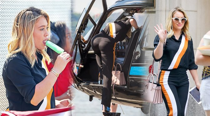"""Hilary Duff on """"Younger"""" Movie Set in New York"""