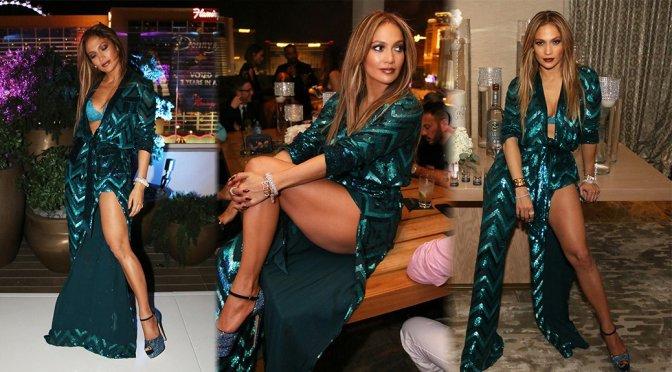 Jennifer Lopez – 47th Birthday Party in Las Vegas