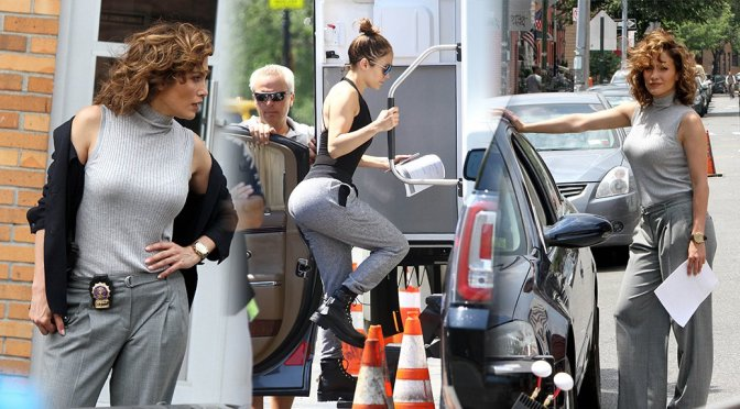 "Jennifer Lopez on ""Shades Of Blue"" Set in New York"