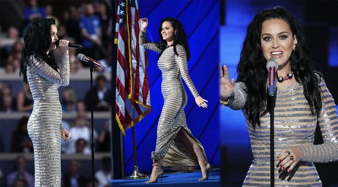 Katy Perry – Democratic National Convention in Philadelphia