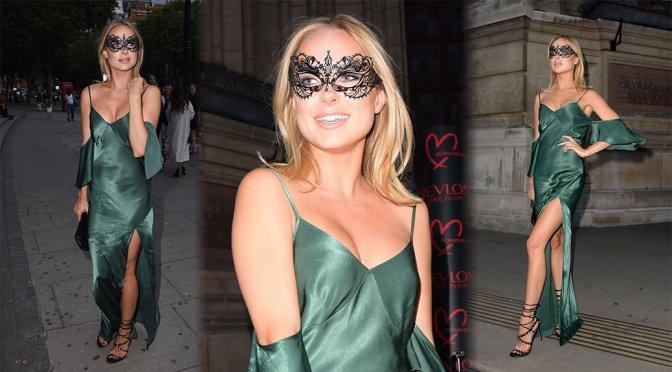 Kimberley Garner – Revlon Choose Love Masquerade Ball in London